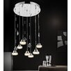 Crystal World Mariann 13 Light LED Chandelier