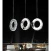 Crystal World Ring 18 Light LED Chandelier