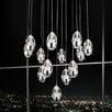 Crystal World Perrier 13 Light Mini Chandelier