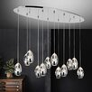 Crystal World Perrier 12 Light Mini Chandelier