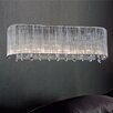 Crystal World Elsa 3 Light Wall Sconce