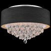 Crystal World Dash 4 Light Flush Mount