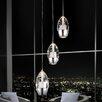 Crystal World Perrier 3 Light Mini Pendant