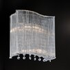 Crystal World Elsa 2 Light Wall Sconce