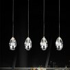 Crystal World Perrier 4 Light Mini Chandelier