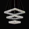 Crystal World Florence LED Light Chandelier