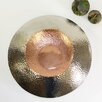 Pampa Bay Hammered Medium Round Decorative Bowl
