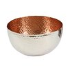 Pampa Bay Hammered Copper Small Deep Serving Bowl