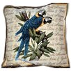 Tache Home Fashion Birds of Paradise Cushion Cover (Set of 2)