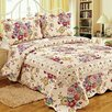 Tache Home Fashion 3 Piece Quilt/Coverlet Set