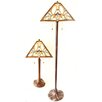 Dynamic Way Serena d'italia Floral 2 Piece Table and Floor Lamp Set