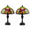 "Dynamic Way Serena d'italia 17"" H Table Lamp with Bowl Shade (Set of 2)"