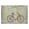 Moycor Wandbild Bike