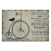 Moycor Bike Picture Vintage Advertisement Plaque