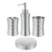 Hopeful Enterprise 4 Piece Bathroom Accessory Set