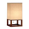 "Adesso Harper 20"" H Table Lamp with Rectangular Shade"
