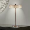 """Adesso Wilshire 27"""" H Table Lamp with Drum Shade"""