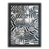 Pieles Pipsa Zebra Black/White Area Rug
