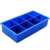 Freshware 8 Cavity Flexible Large Ice Cube Silicone Tray