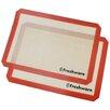 Freshware Professional Silicone Non-Stick Baking Mat (Set of 2)
