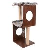 "One Source International 34"" Two Level Cat Tree"