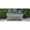 Welcome Puppies Statue - Beckett Garden Statues and Outdoor Accents
