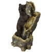 Standing Bear Fountain with LED Light - Beckett Indoor and Outdoor Fountains