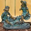 Seesaw Statue - Beckett Garden Statues and Outdoor Accents