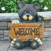 Welcome Bear Statue - Beckett Garden Statues and Outdoor Accents