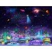 Wallhogs Space City Wall Mural