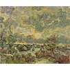 Wallhogs Van Gogh Autumn Landscape (1890) Wall Mural