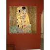 Wallhogs Klimt The Kiss (1907) Wall Mural
