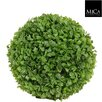 Mica Decorations Boxwood Ball Plant