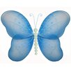 Bugs-n-Blooms Butterfly Hanging Pearl Nylon 3D Wall Decor