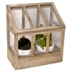 Clementine Creations 3 Piece Greenhouse and Pot Set