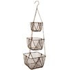Clementine Creations Midra 3 Tier Hanging Basket