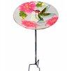 Outdoor Hummingbird Fusion Glass Decorative Bird Feeder - Peaktop Bird Feeders