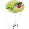 Outdoor Butterfly Fusion Glass Decorative Bird Feeder - Peaktop Bird Feeders