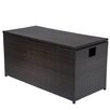 TK Classics Outdoor Wicker Patio Storage Chest