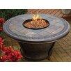 TK Classics Tempe Slate Top Gas Fire Pit Table