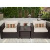 TK Classics Belle 3 Piece Seating Group with Cushion