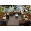 TK Classics Barbados 17 Piece Seating Group with Cushion
