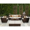 TK Classics Barbados 8 Piece Deep Seating Group with Cushion