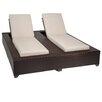 TK Classics Bora Bora Chaise Lounge with Cushions