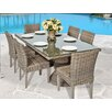 TK Classics Cape Cod 7 Piece Dining Set