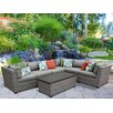 TK Classics Florence 7 Piece Lounge Seating Group Set with Cushion