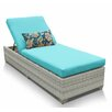 TK Classics Fairmont Chaise Lounge with Cushion