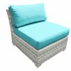 TK Classics Fairmont Armless Chair with Cushions (Set of 2)