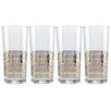 Culver Striped 15 Oz. Highball Glass (Set of 4)