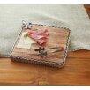 Mud Pie™ Fleur De Lis Square Wood Cutting Board